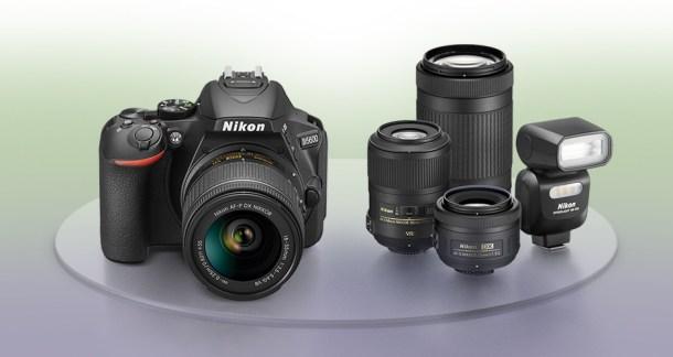 Nikon D5600 lenses and accessories