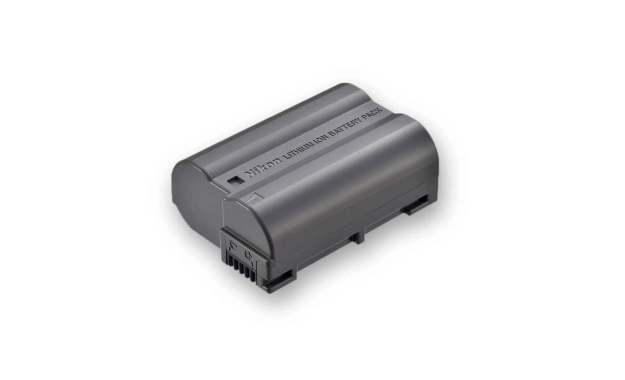 Photo of an EN-EL 15a Lithium-ion Battery