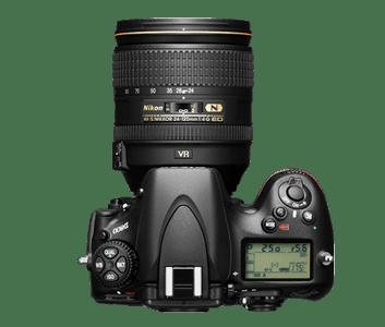 Nikon D800 (from Nikon Site)