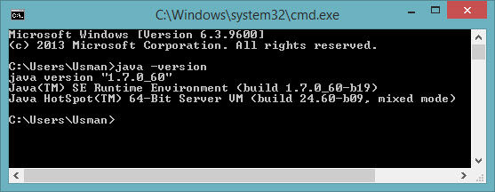 javCheck Java version