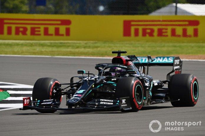 P1 Lewis Hamilton, Mercedes F1 W11