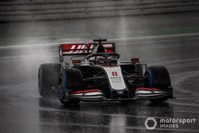 P18 Romain Grosjean, Haas VF-20