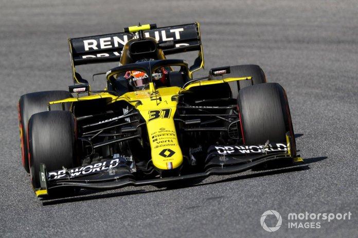 P10 Esteban Ocon, Renault F1 Team R.S.20
