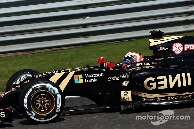 Grosjean pénalisé à son tour sur la grille de Spa