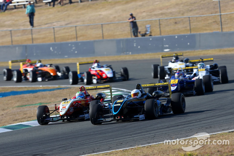 Australian Formula 3 Championship field at Queensland Raceway