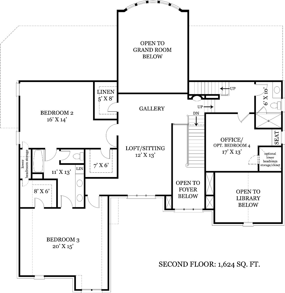 Contemporary House Plan With 3 Bedrooms And 3 5 Baths