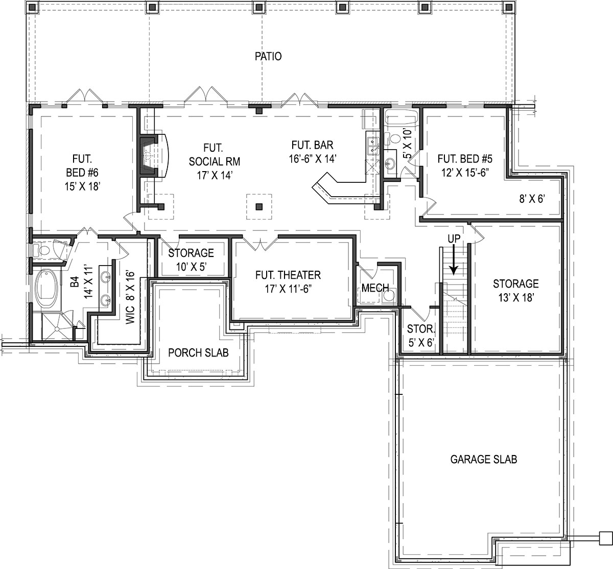 4 Bedrooms And 3 5 Baths