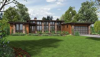 Contemporary House Plans   Modern Contemporary Home Plans Online Contemporary House Blueprints by DFD House Plans