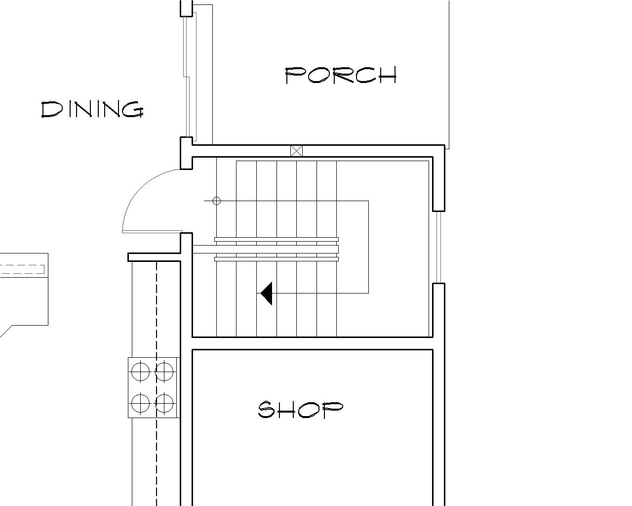 Craftsman House Plan With 2 Bedrooms And 2 5 Baths Plan 4582 | Stairs In House Plans | Residential | Upstairs Dream House | Grand Staircase | Sweeping Staircase House | Balcony