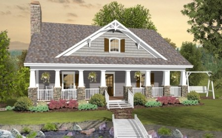 Cottage House Plan with 3 Bedrooms and 2 5 Baths   Plan 3061