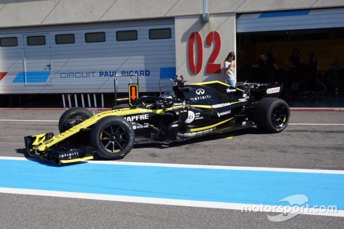 Sergey Sirotkin, Ekipi Renault F1 me goma 18 inç