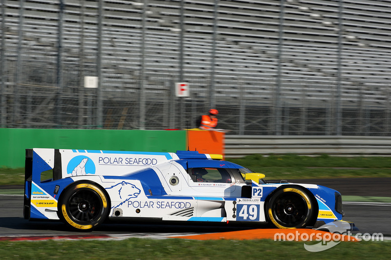 49 High Class Racing Dallara P217 Gibson Dennis
