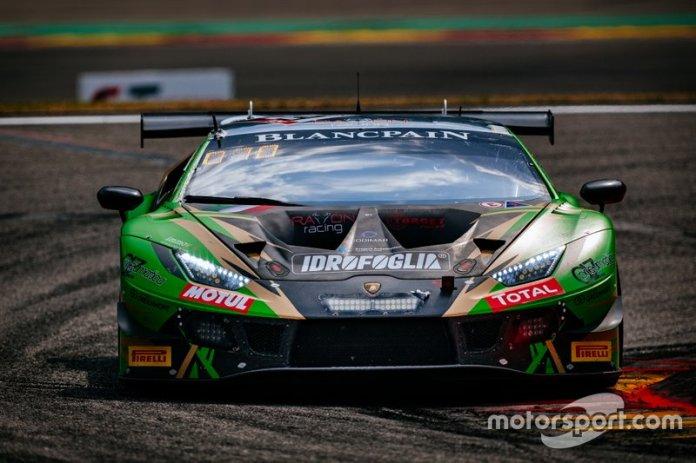 # 29 Raton Racing by Target Lamborghini Huracan GT3 2019: Stefano Costantini, Antonio Forne Tomas, Christoph Lenz, Alberto Di Folco