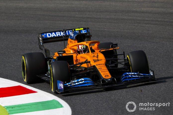 P11 Lando Norris, McLaren MCL35