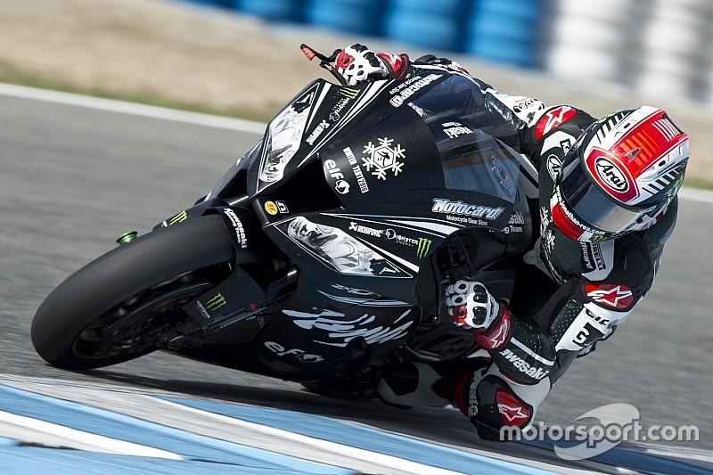 Kawasaki spaventa tutti con Jonathan Rea nei test invernali di Aragon