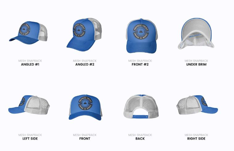 It has plastic mesh back panel and snapback closing mechanism. 51 Cap Mockup Psd And Hat Templates All Kinds Texty Cafe