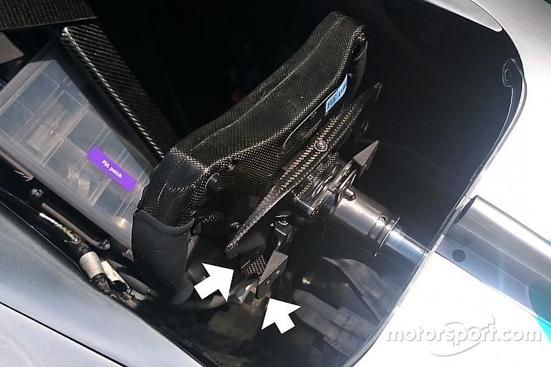 Mercedes: per partire meglio, modificata la leva della frizione di Hamilton