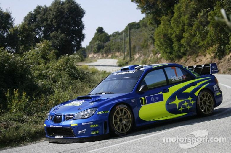 Petter Solberg and Phil Mills, Subaru WRT Subaru Impreza ...