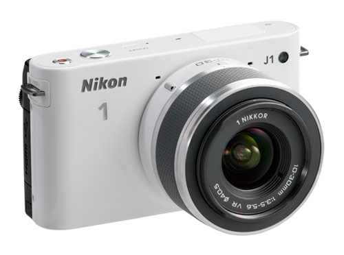 Nikon 1 J1 tok ikke akkurat fotopressen med storm. Foto: Nikon
