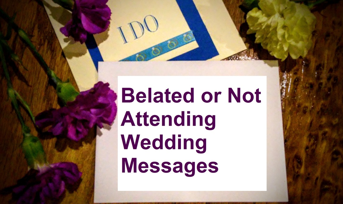 Wedding Messages For If You Are Not Attending Wishes Messages Sayings