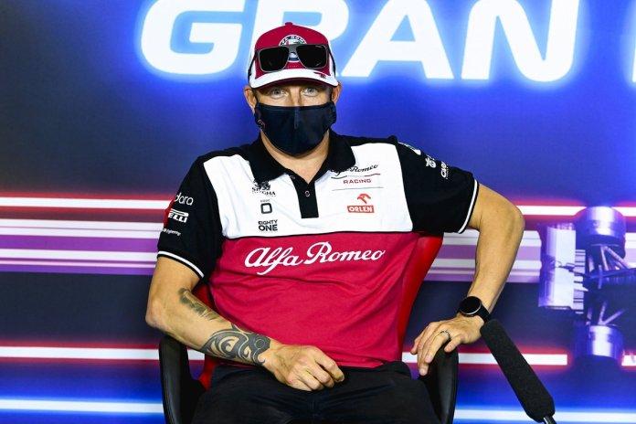 Kimi Raikkonen, Alfa Romeo Racing në konferencën për shtyp
