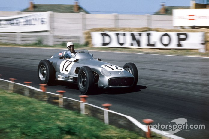 Sterling Moss, Mercedes-Benz W196