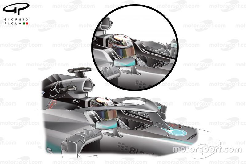 """مقترح السلامة لسيارة مرسيدس """"دبليو06"""""""