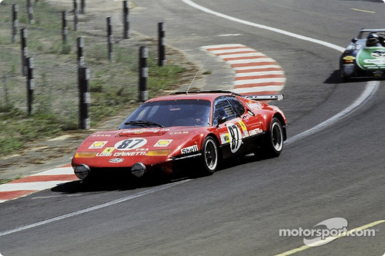 #87 Luigi Chinetti Sr. Ferrari 512 BB: Jacques Guérin, Jean-Pierre Delaunay, Gregg Young at 24 ...