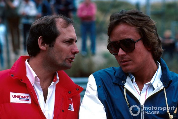 Ron Dennis and Mansour Ojjeh