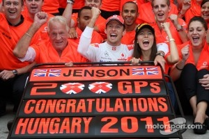 Great win for Button at the Hungaroring