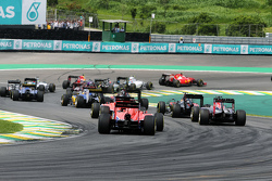 f1 brazilian gp 2015 start action
