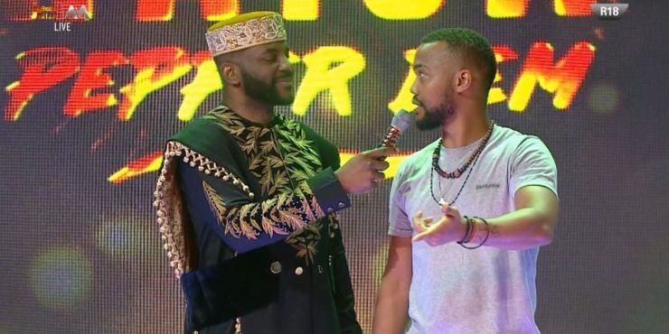 BBNaija 2019 Sunday Live Eviction Show: Joe And Enkay Evicted