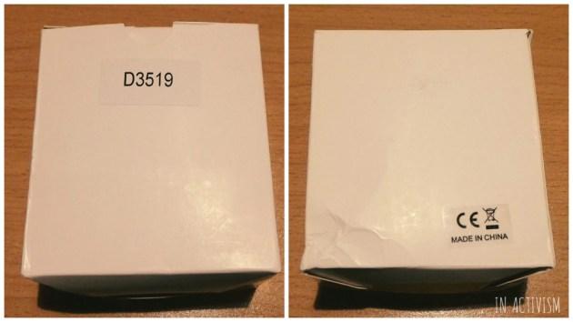 シンプルな白い箱