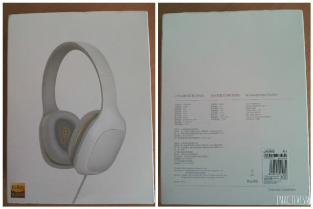 Original Xiaomi Headphones化粧箱