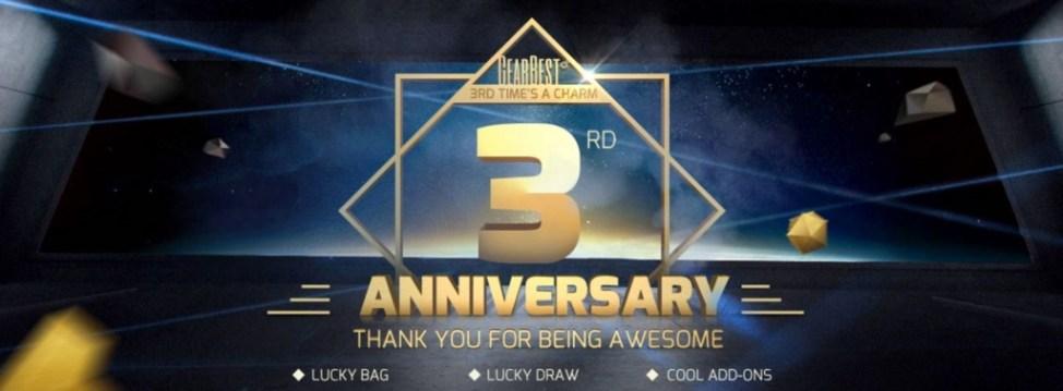 3周年記念(3rd Anniversary)セール