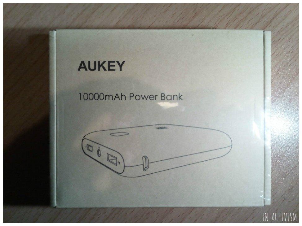 AUKEY モバイルバッテリー化粧箱
