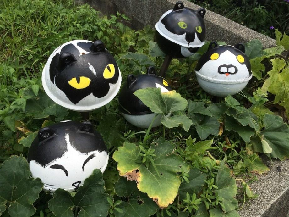 台湾 観光 猫村 いっぱい