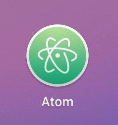 Atomのアイコン