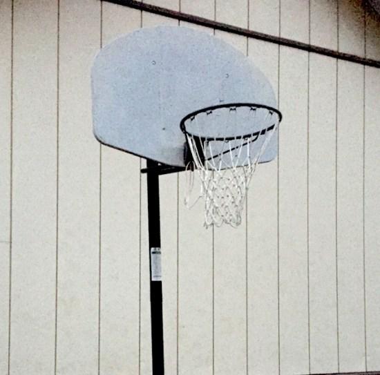 我が家のバスケットゴール