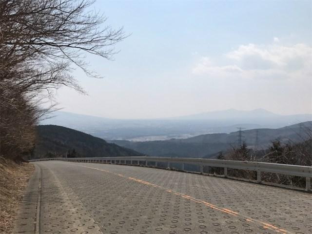 三国峠にはこのような激坂地帯も!