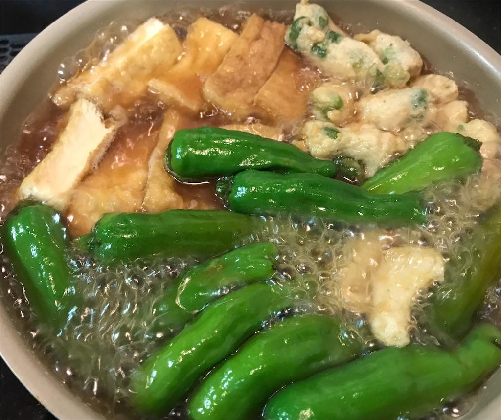 厚揚げ豆腐煮込み