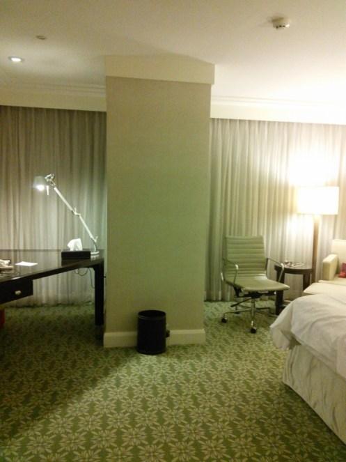 JWマリオットホテル・ソウルの客室の柱