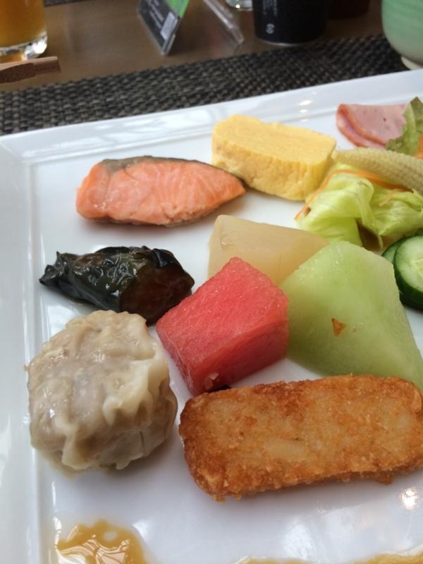 東京マリオットホテルのラウンジ&ダイニングGのフルーツ