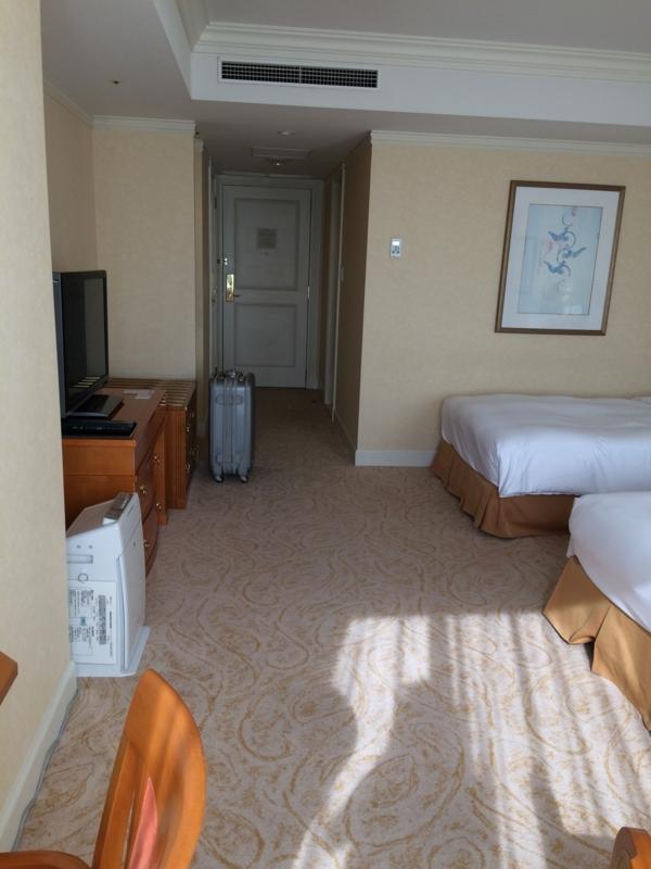 名古屋マリオットホテルのベッド