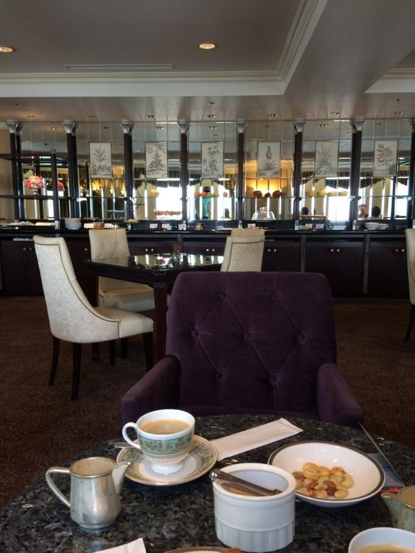 名古屋マリオットホテルの朝食のコーヒー