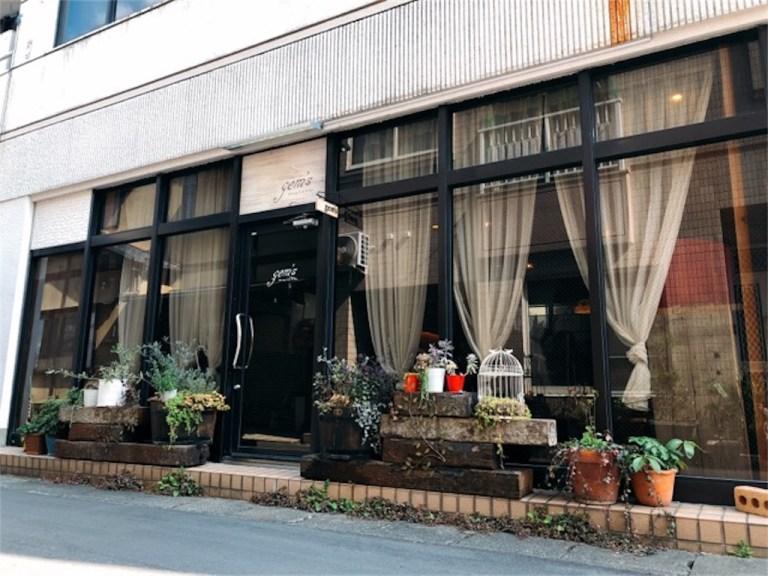 時津のマリッジカフェgem'sの外観
