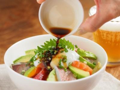 「海鮮丼 わさび醤油」の画像検索結果
