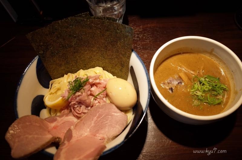 九十九里煮干しつけ麺 志奈田