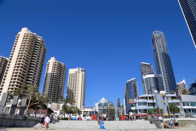 オーストラリアの観光スポットであるゴールドコースト