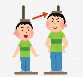 男の子の成長比較のイラスト
